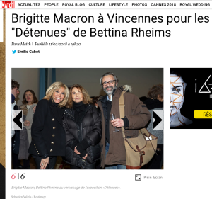 Brigitte macron Bettina Rheims